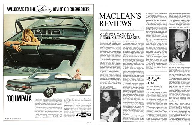 Article Preview: TOP CRIME, ITALIAN STYLE, April 1966 | Maclean's