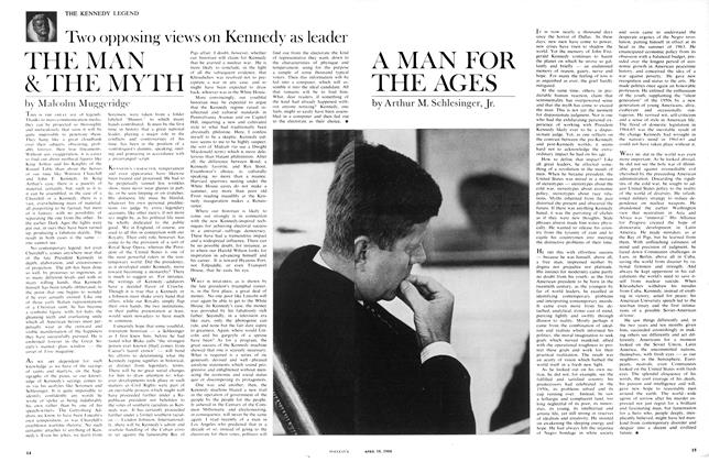 Article Preview: THE MAN & THE MYTH, April 1966 | Maclean's