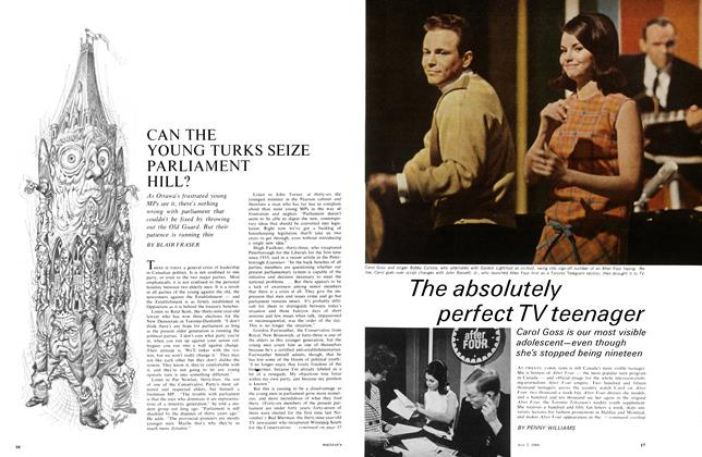 Article Preview: CAN THE YOUNG TURKS SEIZE PARLIAMENT HILL?, May 1966 | Maclean's