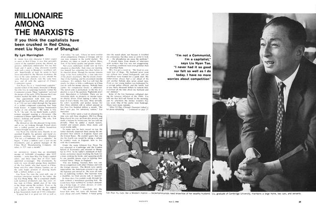 Article Preview: MILLIONAIRE AMONG THE MARXISTS, May 1966 | Maclean's