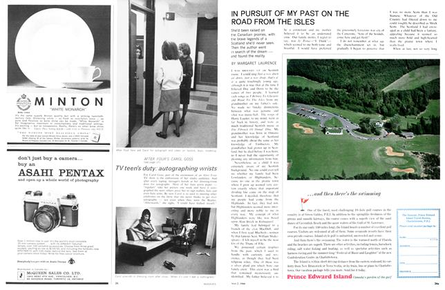 Article Preview: IN PURSUIT OF MY PAST ON THE ROAD FROM THE ISLES, May 1966 | Maclean's