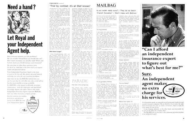Article Preview: MAILBAG, May 1966 | Maclean's