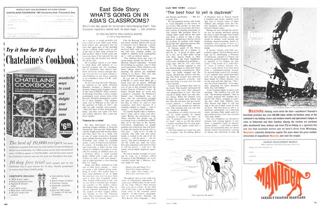 Article Preview: East Side Story: WHAT'S GOING ON IN ASIA'S CLASSROOMS?, May 1966 | Maclean's