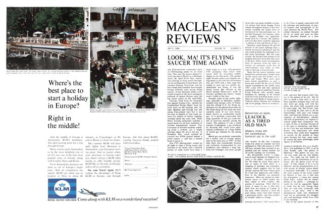 Article Preview: LEACOCK AS A TIRED OLD MAN, May 1966 | Maclean's