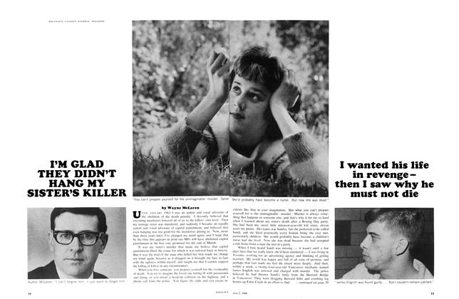 Article Preview: I'M GLAD THEY DIDN'T HANG MY SISTER'S KILLER, May 1966 | Maclean's