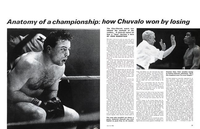 Article Preview: Anatomy of a championship: how Chuvalo won by losing, May 1966 | Maclean's