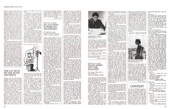 Article Preview: EIGHT GIRLS GET THE HATCHET, May 1966 | Maclean's