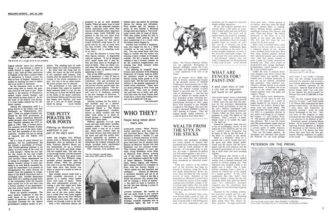 Article Preview: WHAT ARE FENCES FOR? PAINT-INS!, May 1966 | Maclean's