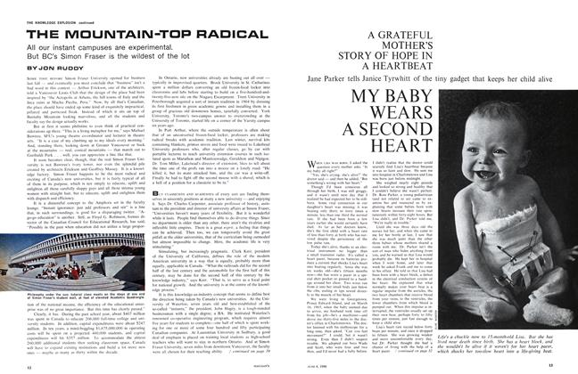 Article Preview: MY BABY WEARS A SECOND HEART, June 1966 | Maclean's