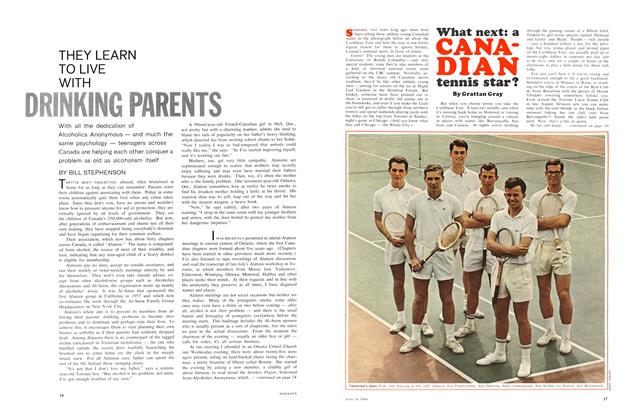 Article Preview: What next: a CANADIAN tennis star?, June 1966 | Maclean's