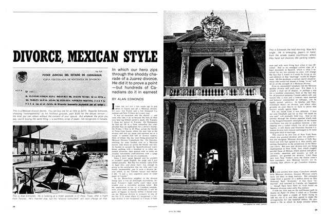 Article Preview: DIVORCE, MEXICAN STYLE, June 1966 | Maclean's