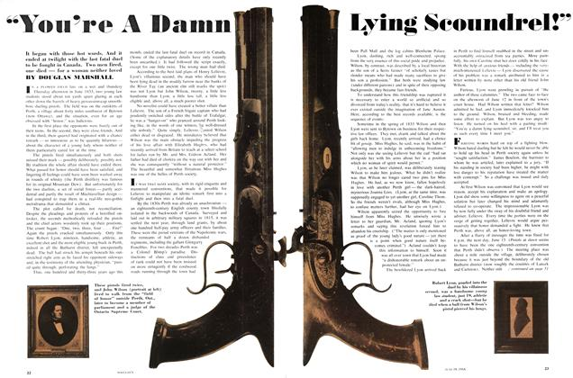 "Article Preview: ""You're A Damn Lying Scoundrel!"", June 1966 