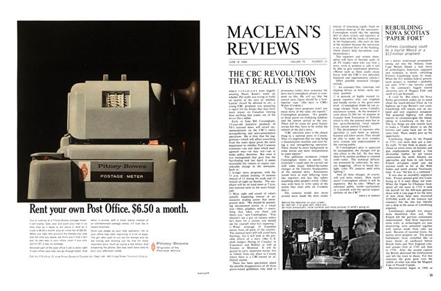 Article Preview: THE CBC REVOLUTION THAT REALLY IS NEWS, June 1966 | Maclean's