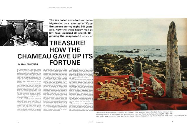Article Preview: TREASURE! HOW THE CHAMEAU GAVE UP ITS FORTUNE, June 1966 | Maclean's