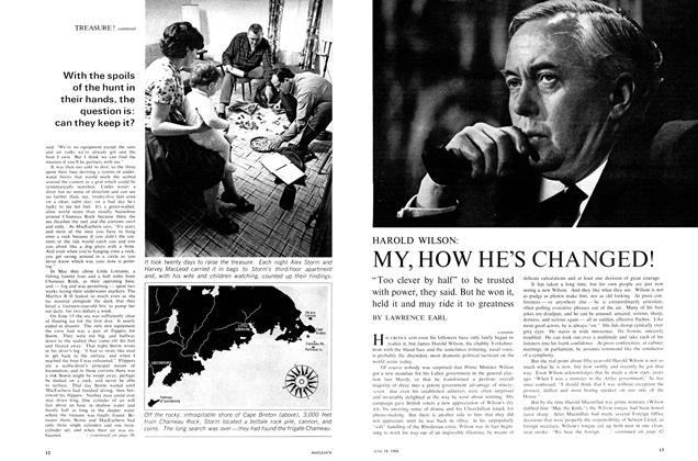Article Preview: HAROLD WILSON: MY, HOW HE'S CHANGED!, June 1966 | Maclean's