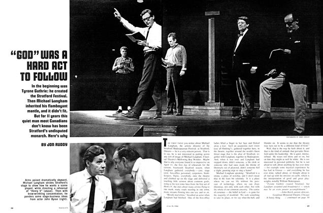 "Article Preview: ""GOD"" WAS A HARD ACT TO FOLLOW, June 1966 