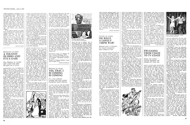 Article Preview: OH WHAT A LOVELY 33RPM WAR!, July 1966 | Maclean's