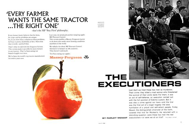 Article Preview: THE EXECUTIONERS, July 1966 | Maclean's