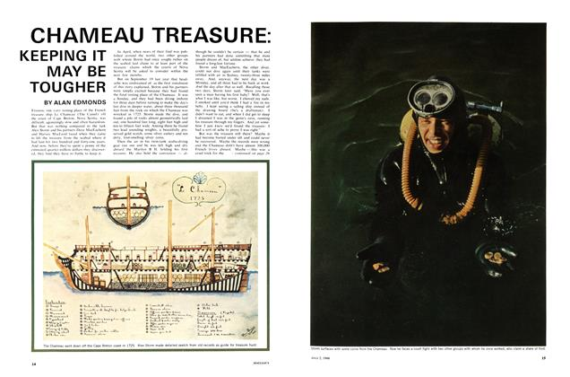 Article Preview: CHAMEAU TREASURE: KEEPING IT MAY BE TOUGHER, July 1966 | Maclean's