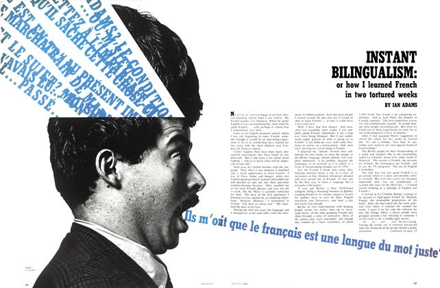 Article Preview: INSTANT BILINGUALISM, July 1966 | Maclean's