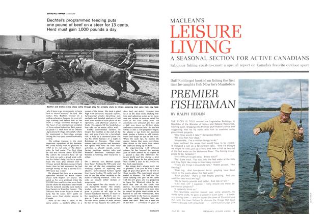 Article Preview: PREMIER FISHERMAN, July 1966 | Maclean's