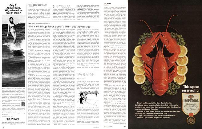 Article Preview: Power peeker, August 1966   Maclean's