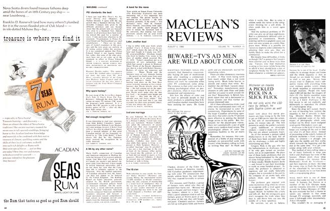 Article Preview: A PICKLED PECK IN A SLICK FLICK, August 1966 | Maclean's