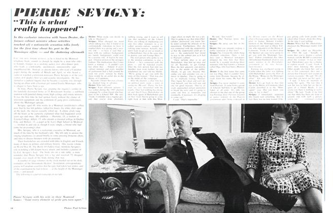 "Article Preview: PIERRE SEVIGNY: ""Yhis is what really happened"", August 1966 