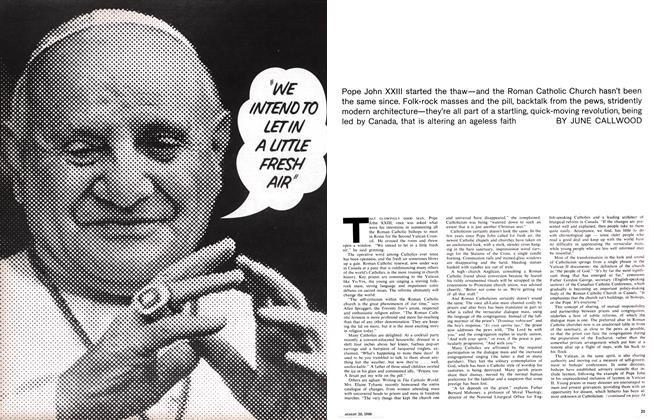 "Article Preview: ""WE INTEND TO LET IN A LITTLE FRESH AIR"", August 1966 