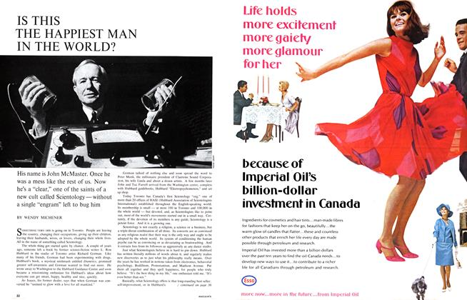 Article Preview: IS THIS THE HAPPIEST MAN IN THE WORLD?, August 1966 | Maclean's
