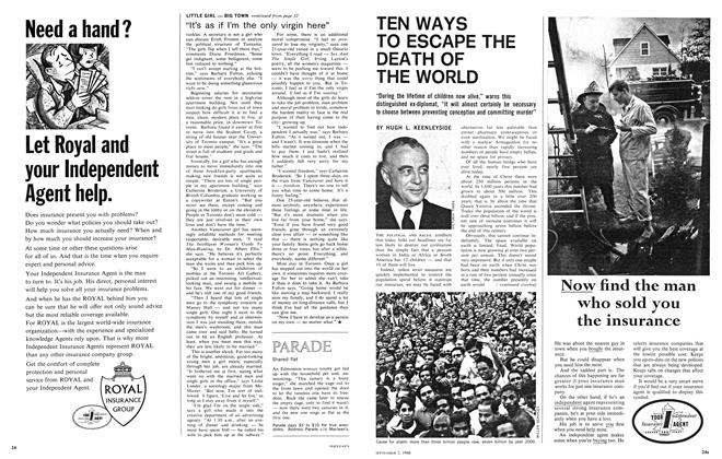 Article Preview: TEN WAYS TO ESCAPE THE DEATH OF THE WORLD, September 1966 | Maclean's