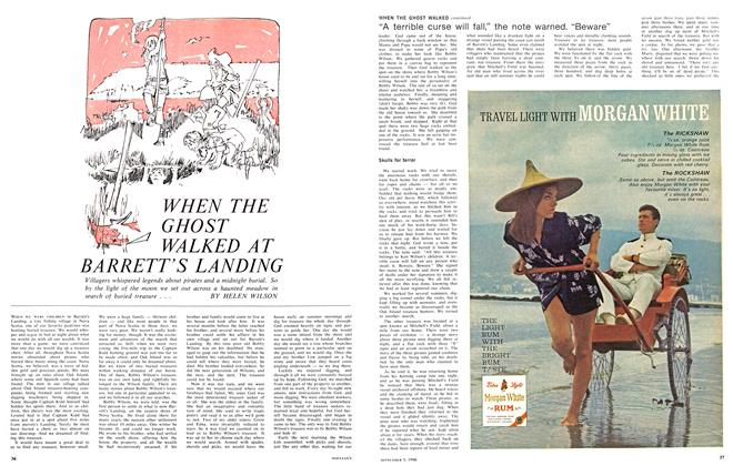 Article Preview: WHEN THE GHOST WALKED AT BARRETT'S LANDING, September 1966 | Maclean's