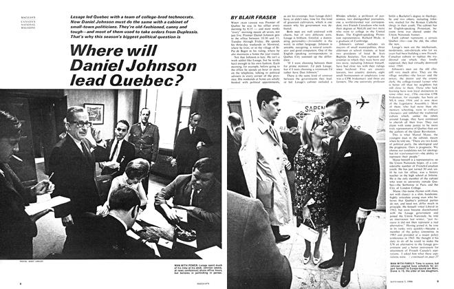 Article Preview: Where will Daniel Johnson lead Quebec?, September 1966 | Maclean's