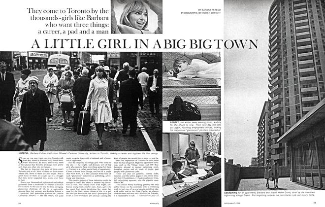 Article Preview: A LITTLE GIRL IN A BIG BIG TOWN, September 1966 | Maclean's