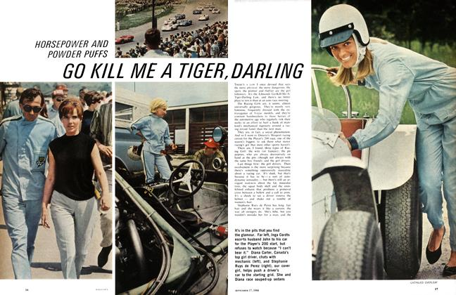Article Preview: GO KIL L ME A TIGER, DARLING, September 1966 | Maclean's