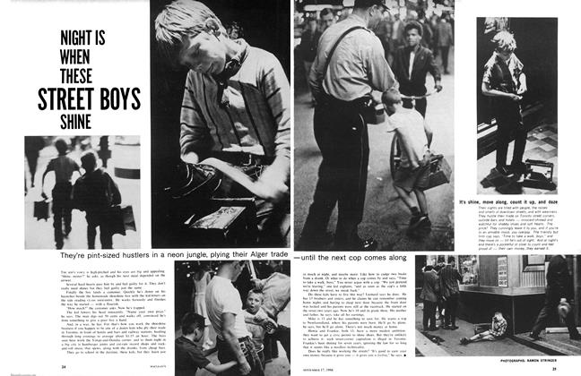 Article Preview: NIGHT IS WHEN THESE STREET BOYS SHINE, September 1966 | Maclean's
