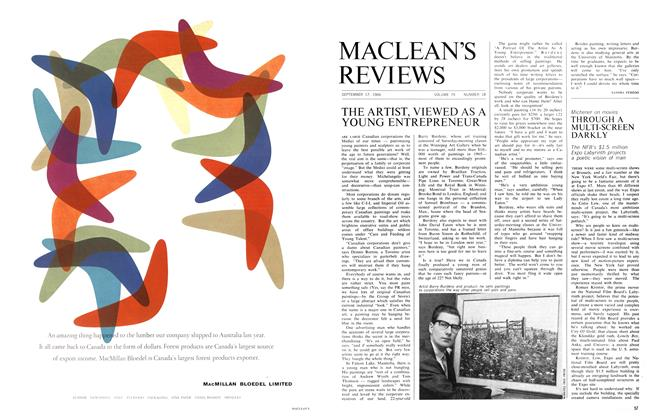 Article Preview: THROUGH A MULTI-SCREEN DARKLY, September 1966 | Maclean's