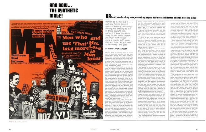 Article Preview: ROD NOW... THE SYNTHETIC MALE!, October 1966 | Maclean's