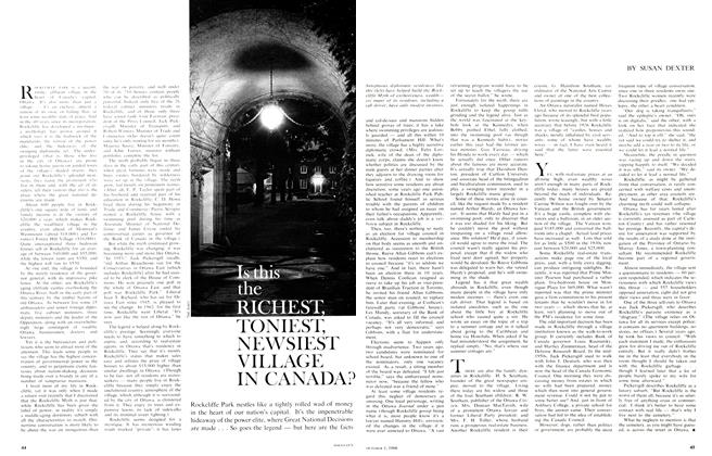 Article Preview: Is this the RICHEST, TONIEST, NEWSIEST VILLAGE IN CANADA?, October 1966 | Maclean's