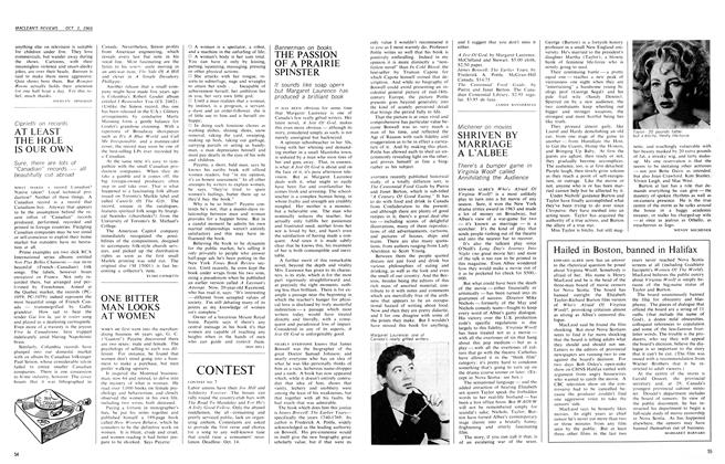 Article Preview: ONE BITTER MAN LOOKS AT WOMEN, October 1966 | Maclean's