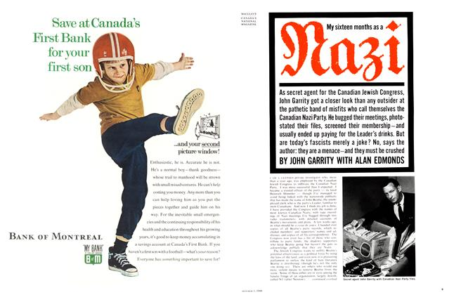 Article Preview: My 16 months as a Nazi, October 1966 | Maclean's