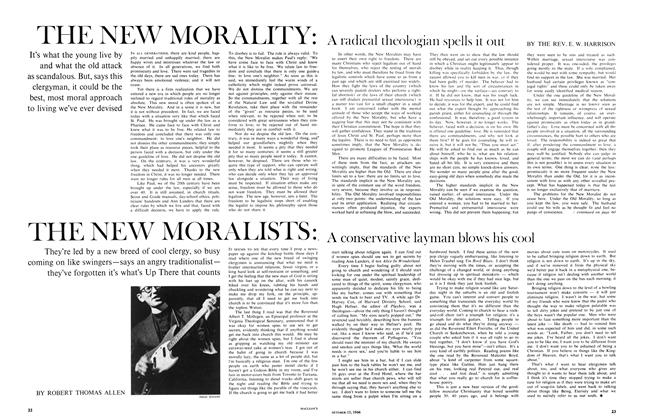 Article Preview: THE NEW MORALISTS:, October 1966 | Maclean's