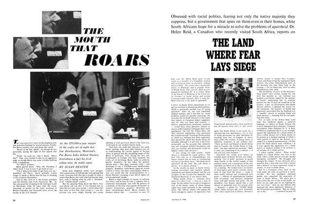Article Preview: THE MOUTH THAT ROARS, October 1966 | Maclean's