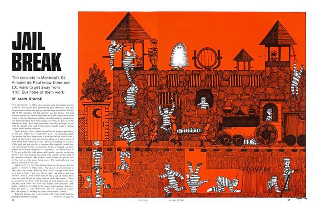 Article Preview: JAIL BREAK, October 1966 | Maclean's
