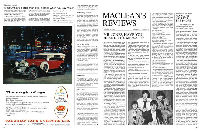 Article Preview: NO NIGHT PASS FOR THE PADRE, October 1966 | Maclean's