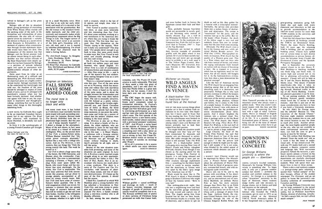 Article Preview: WILD ANGELS FIND A HAVEN IN VENICE, October 1966   Maclean's