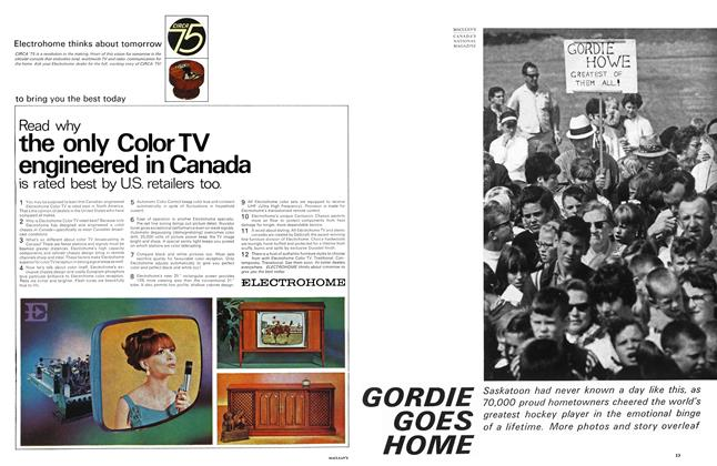 Article Preview: GORDIE GOES HOME, October 1966 | Maclean's
