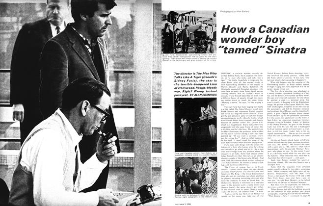 "Article Preview: How a Canadian wonder boy ""tamed"" Sinatra, November 1966 