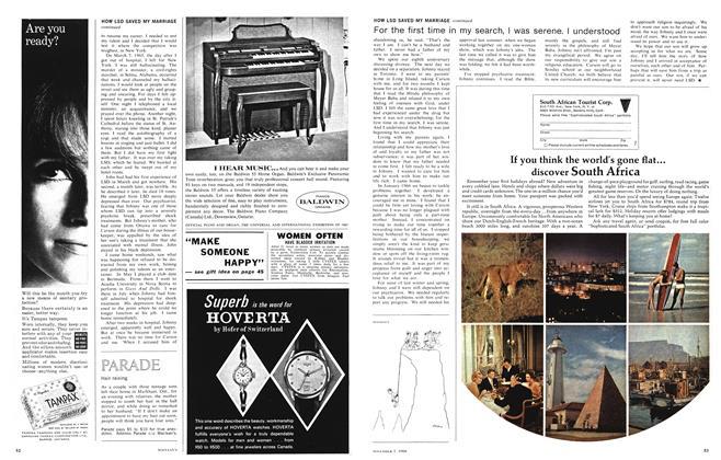 Article Preview: Hair raising, November 1966 | Maclean's