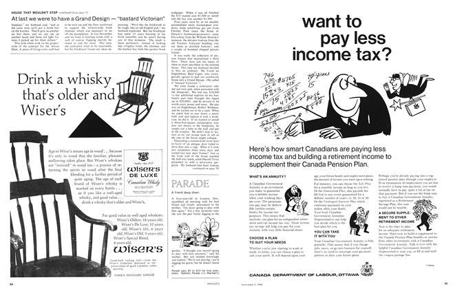 Article Preview: A friend deep down, November 1966 | Maclean's